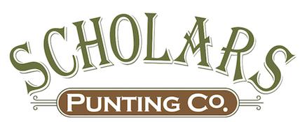 scholars punting co logo