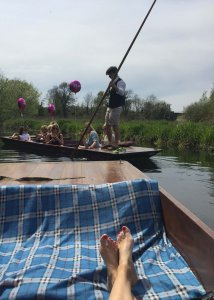 Granchester Punting