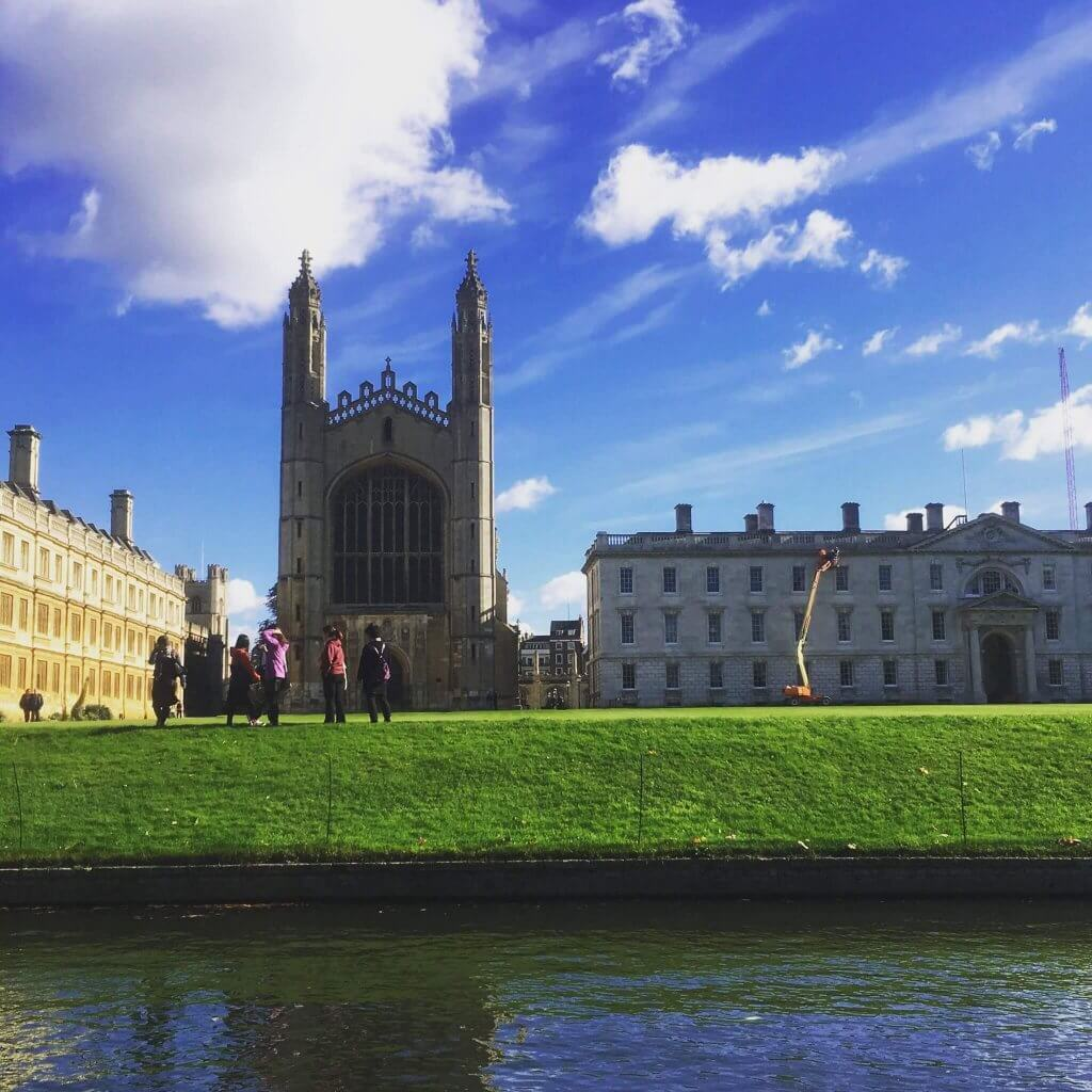 A Brief History of King's College, Cambridge  A punting tour