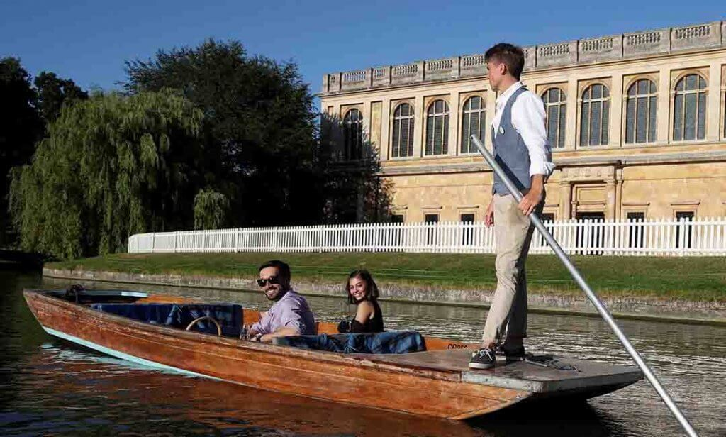 Punting in Cambridge 19
