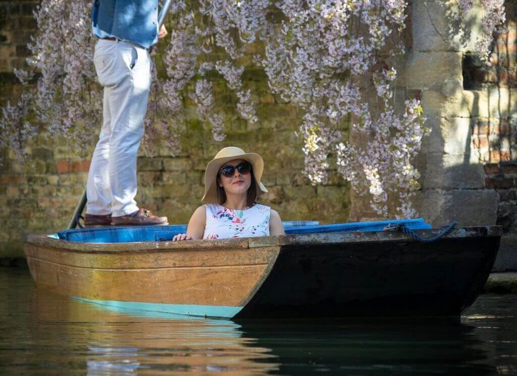 Punting in Cambridge 1
