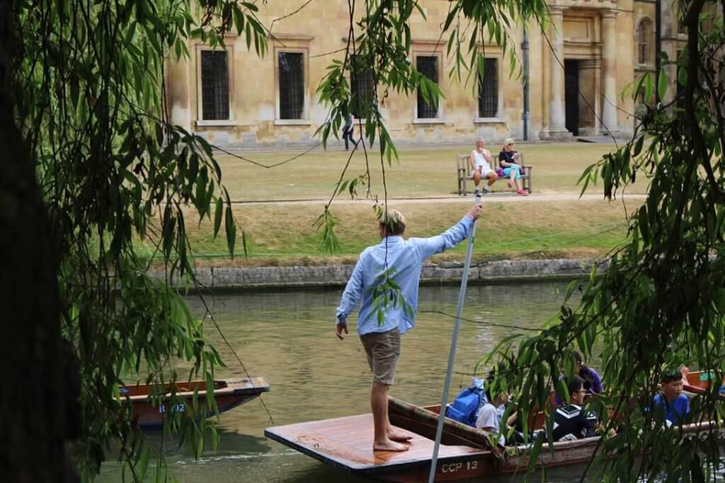 Punting in Cambridge 6