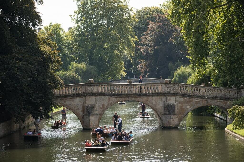 Punting in Summer
