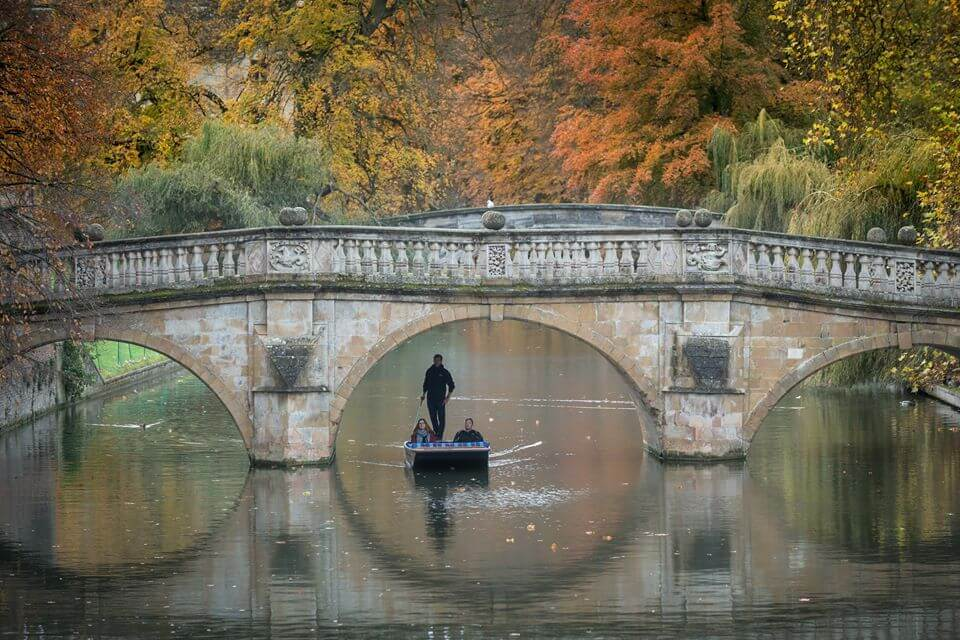 Punting in Autumn
